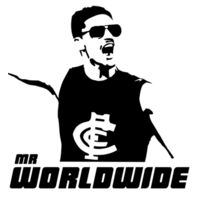 Mr Worldwide (White) Design